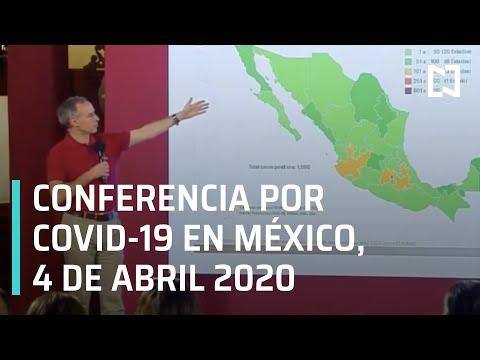 Conferencia de Prensa del Coronavirus en México - 4 de Abril 2020