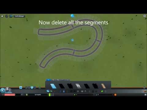 cities skylines how to make parallel roads