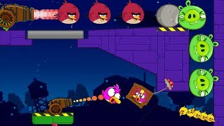Angry Birds Cannon Collection 4 - FORCE THE PIGGIES TO ANGRY BIRDS GAMEPLAY!