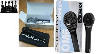 Audix OM6 Mic 2017 Unboxing & Full Review How Spot The Fake