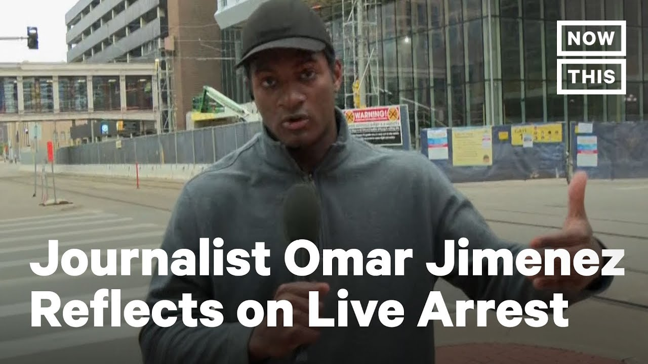 CNN Reporter Omar Jimenez Speaks on Arrest While Reporting | NowThis