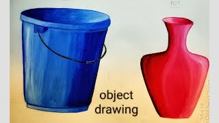 elementary grade exam object drawing coloring. part-2 by Rutujas artwork