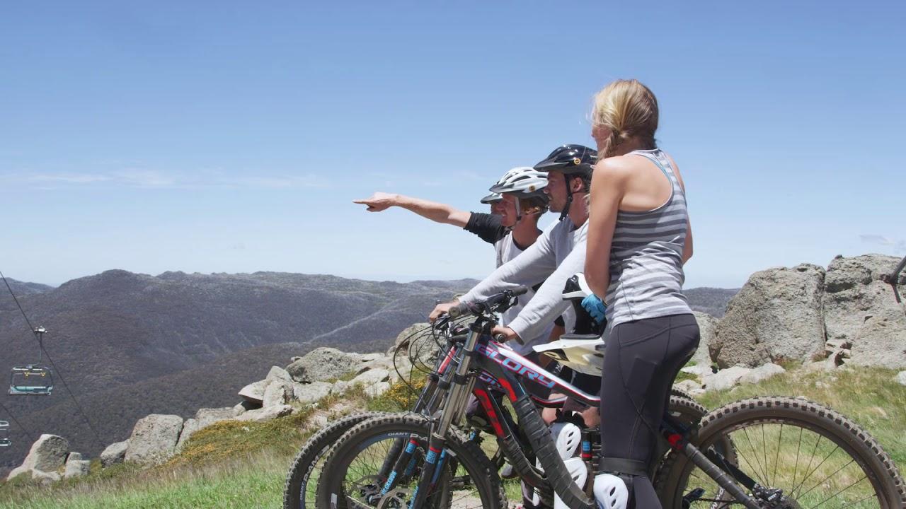 Thredbo Mountain Bike Park - YouTube