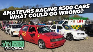 Can the Mexican Stig handle 5 amateur racers?