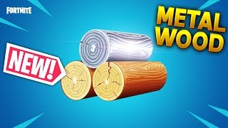 *NEW* METAL WOOD MATERIAL!!? - Fortnite Funny WTF Fails and Daily Best Moments Ep.1030