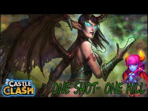SEXUAL SPIRIT (SUCCUBUS) EVOLVED IN ACTION -CASTLE CLASH
