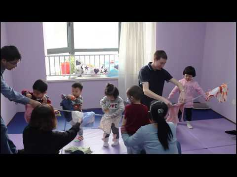 Age 0~3 early childhood education in Tianjin China