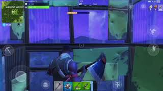 Fortnite:building the highest tower using all my resources
