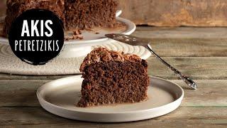 Tres Leches Chocolate Cake | Akis Petretzikis