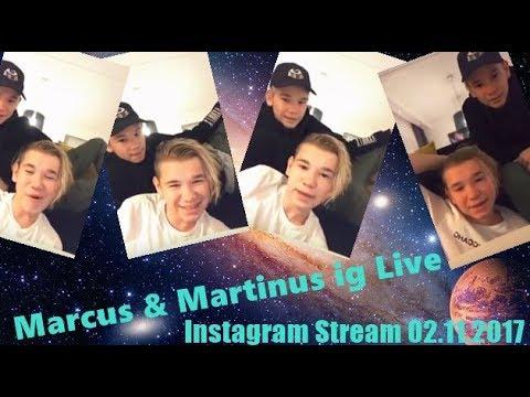 Marcus & Martinus ig Live  ( Instagram Stream  02.11.2017 )