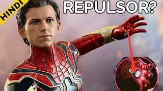 Spiderman Iron Spider Suit Has Repulsors    HINDI    Super Fan
