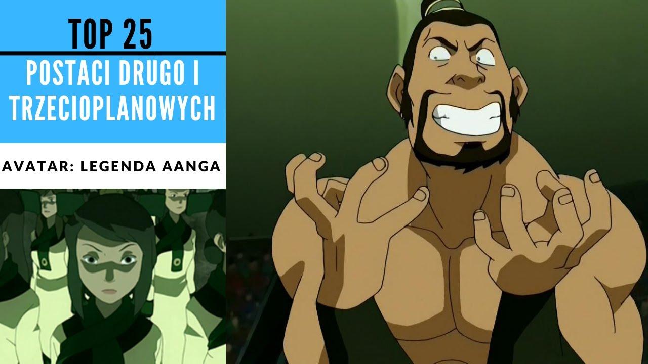 Top 25 najlepszych postaci drugo i trzecioplanowych w Avatar: Legenda Aanga [KRONIKI AVATARA]