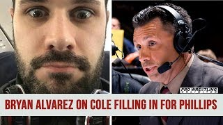 Bryan Alvarez On Michael Cole Filling In For Tom Phillips On Smackdown (AUDIO)