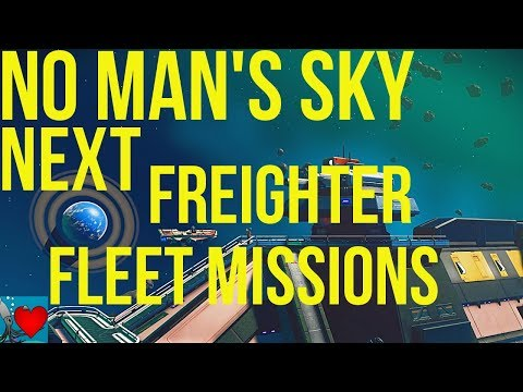 No Man's Sky Next Fleet - Freighter Missions