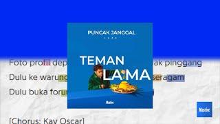 laze, TEMAN LAMA (HIGHLIGHT LYRIC) MOTION GRAPH