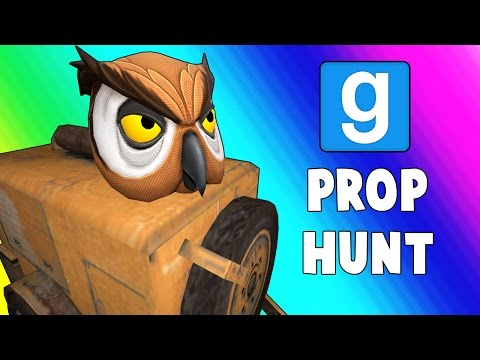 Thumbnail: Gmod Prop Hunt Funny Moments - Giant Paint Cans! (Garry's Mod)