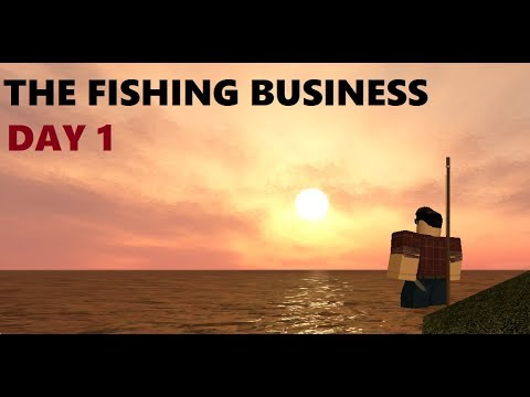 THE FISHING BUSINESS | DAY 1 | Roblox Tradelands