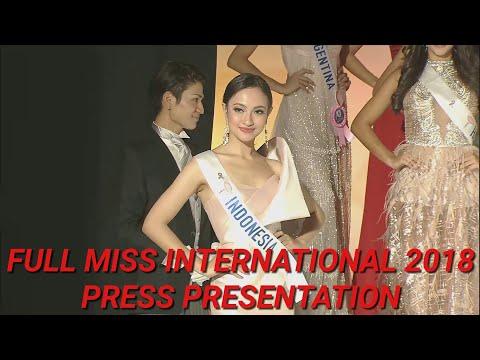 (FULL HD) MISS INTERNATIONAL 2018 PRESS PRESENTATION