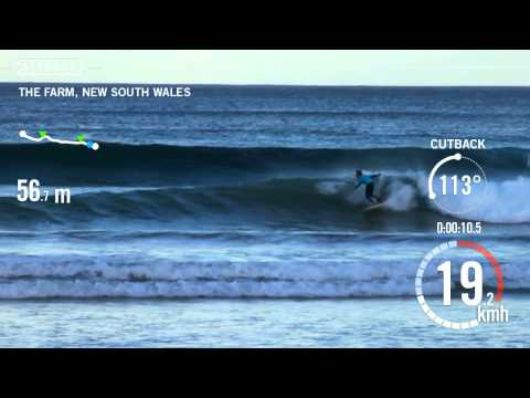 Trace: Surfing - Max Bullen at The Farm