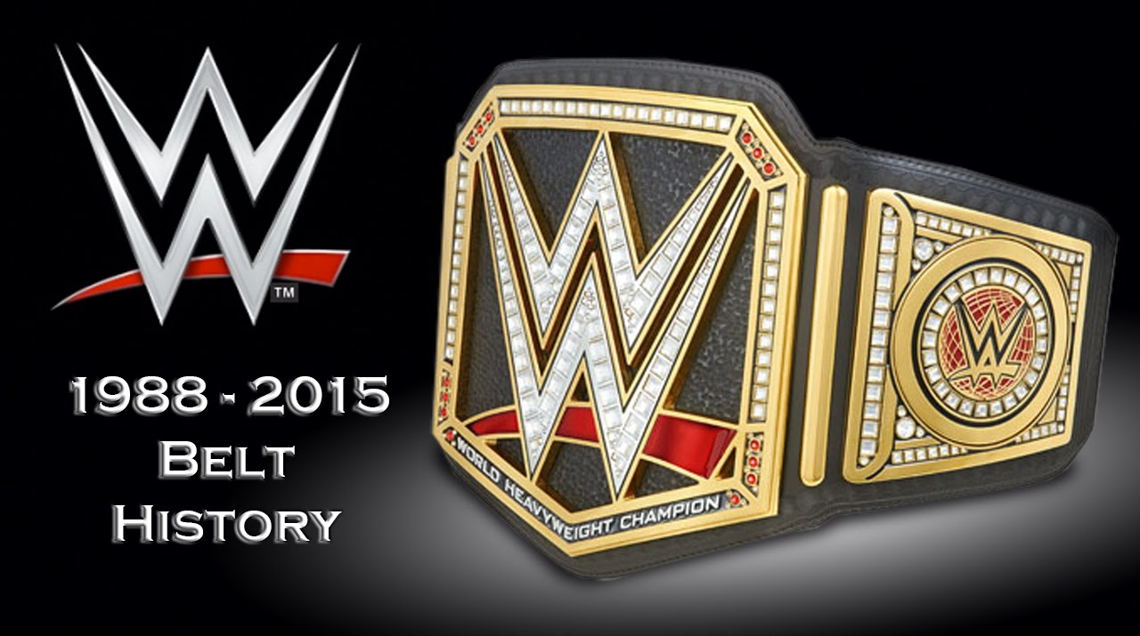 Wwe Championship Belts History  1988-2015