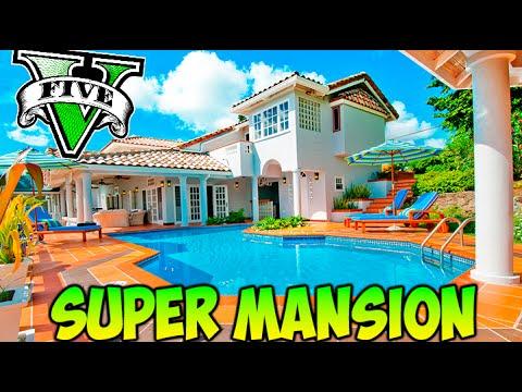GTA V MOD NUEVA SUPER MANSION GIGANTE !! GTA 5 MODS PC Makiman