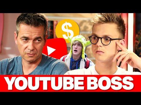 YouTube Boss (INTERVIEW) Logan Paul Type Punishment, YouTuber Allegations & Demonetization