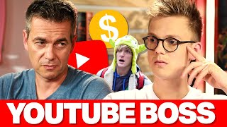 YouTube Boss (INTERVIEW) Logan Paul Type Punishment, YouTuber Allegations & Demonetization thumbnail