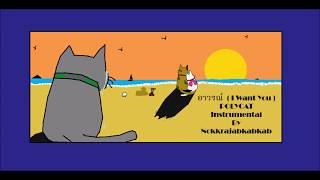 อาวรณ์ [ I Want You ] - POLYCAT Instrumental By Nokkrajabkabkab