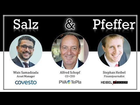 Alfred Schopf, CEO von PVA TePla, bei Salz & Pfeffer am Mittag
