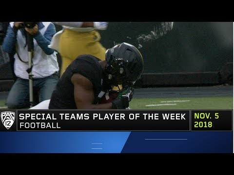 oregon's-ugochukwu-amadi-earns-pac-12-football-special-teams-player-of-the-week-honors