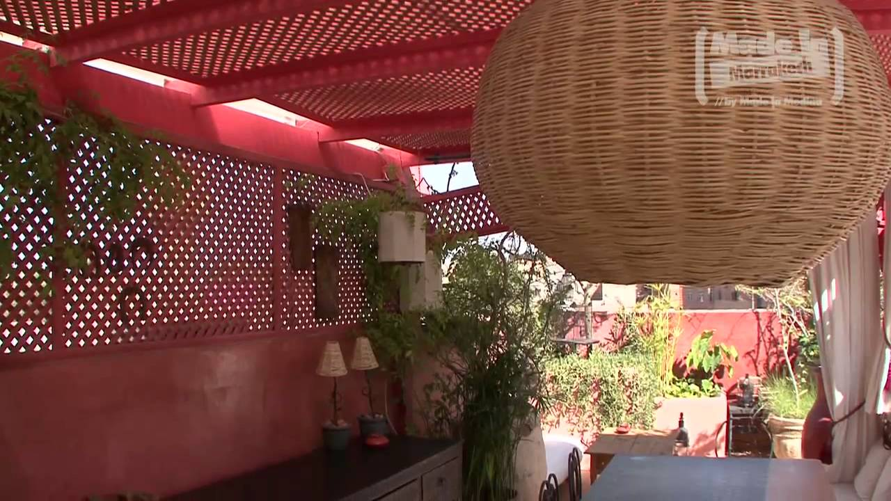 la terrasse des oliviers by made in marrakech youtube. Black Bedroom Furniture Sets. Home Design Ideas