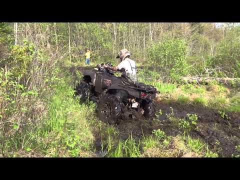 June 1 Ride 005, Kawasaki Brute 840 And Can Am Renegade 1000 XXC.