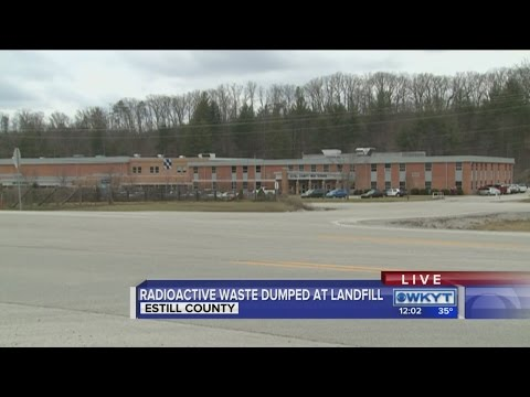 Community shocked after learning about radioactive waste at Estill Co. landfill