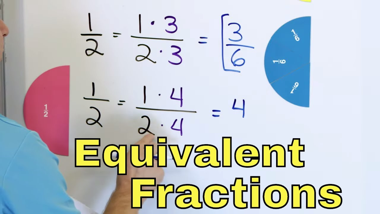 28 - What are Equivalent Fractions? - (Calculate & Find Equivalent  Fractions) - Part 28