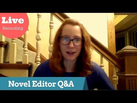 Novel Editor Q & A [Live Recording]