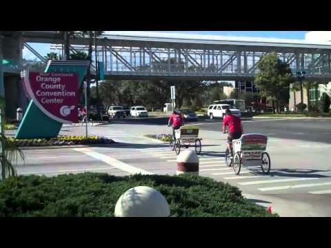 Convention Center Pedicabs in Orlando, Florida
