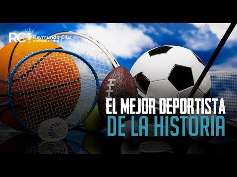 ¡EL MEJOR DEPORTISTA DE LA HISTORIA!