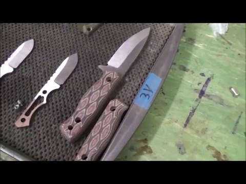 Gravelle Knives: Making the Handle