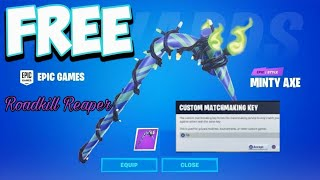(NA-EAST) CUSTOM MATCHMAKING Free Minty Pickaxe Fortnite Live SOLO/DUO/SQUAD