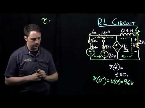 Circuits I: Example with RL Circuit