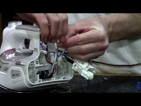 Iron Repair - No Power or bad wire in cord - Rowenta Master