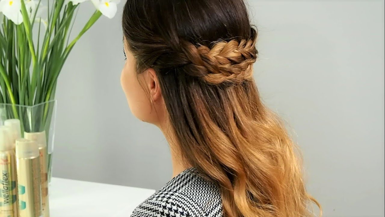 Jak Zrobić Warkocz Z Rozpuszczonymi Włosami Do Pracy Tutorial Hair Coach Wella Polska