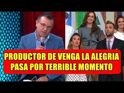 ADRIAN PATIÑO PRODUCTOR DE VENGA LA ALEGRÍA pasa por TERRIBLE MOMENTO y asi LO APOYAN TODOS