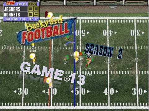 Backyard Football 1999 (PC) (SEASON 2) Game 13: Slick N ...
