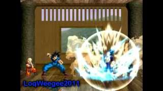(Loquendo) Goku vs Vegeta Latino Mugen