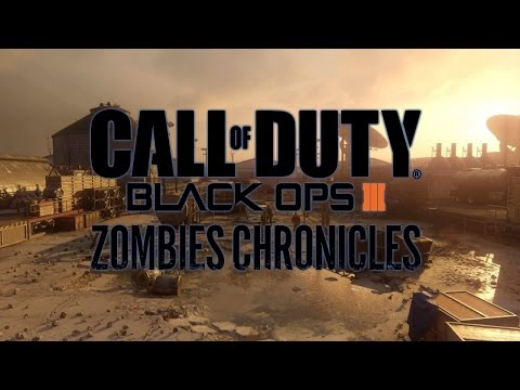 ZOMBIES CHRONICLES | MOON EASTER EGG Y KINO DER TOTEN REMASTERIZADOS | BLACK OPS 3 ZOMBIES DLC 5