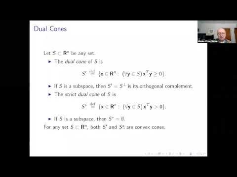 Arbitrage and Convexity in Discrete Financial Model - Victor Wickerhauser - FFT20