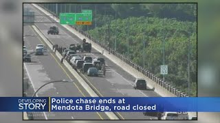 Mendota Heights Bridge Closed After Police Chase