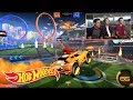 First Look: Hot Wheels Rocket League Arena (Exclusive Gameplay Preview) | Hot Wheels