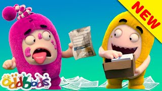 ODDBODS | Newt's Help Has A Twist Ending | Cartoons For Kids